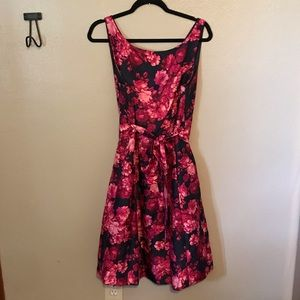 Jessica Howard navy floral dress